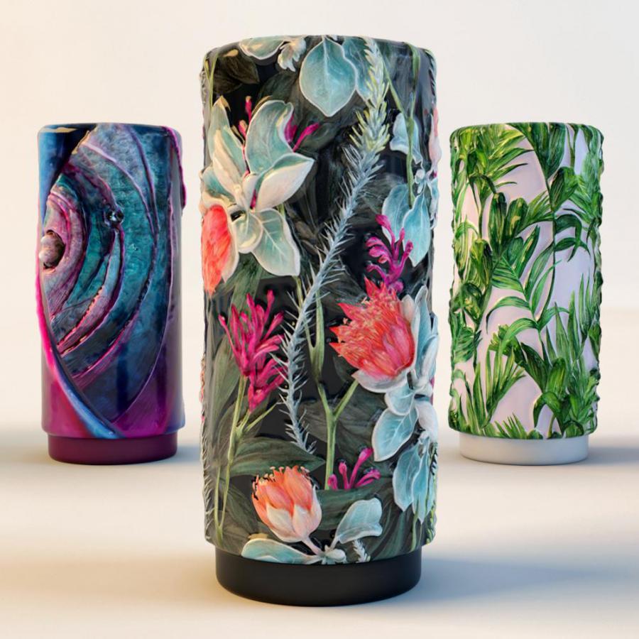 现代装饰花瓶摆件模型