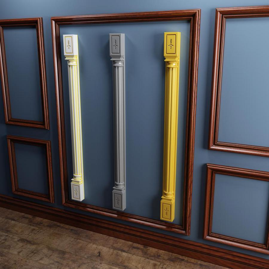 橱柜罗马柱3D模型