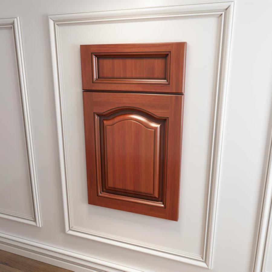 橱柜衣柜实木起拱门板模型