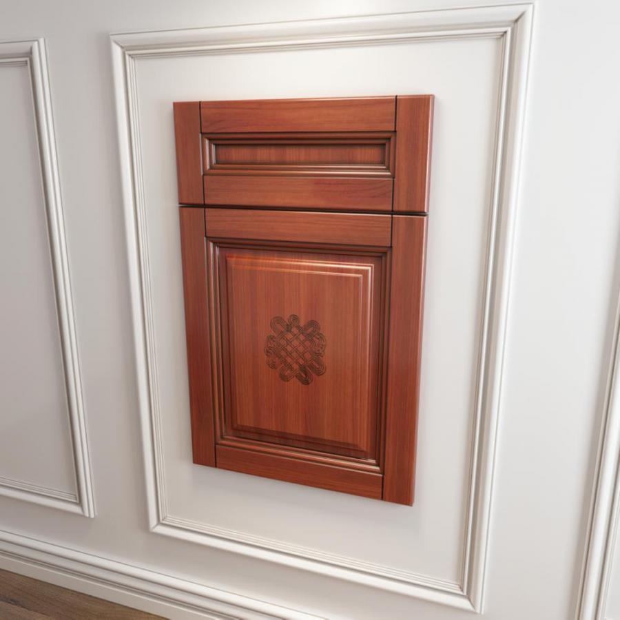 橱柜衣柜回型门板门型原创模型