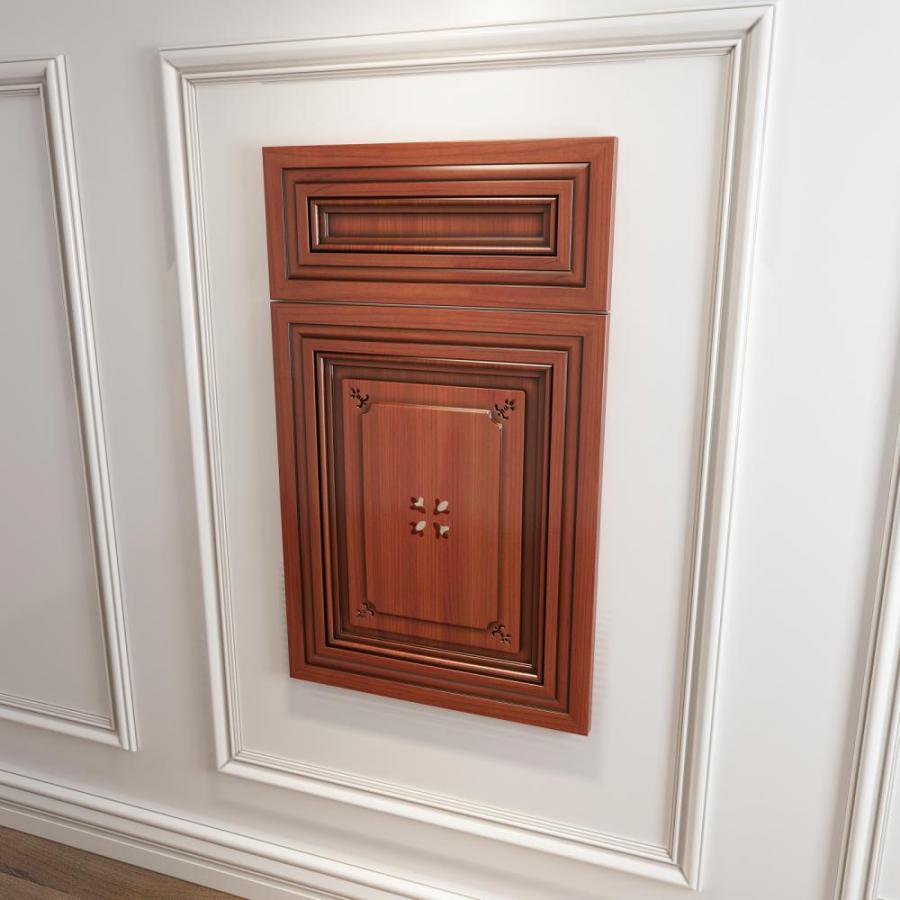 橱柜衣柜回型压线门板门型原创模型
