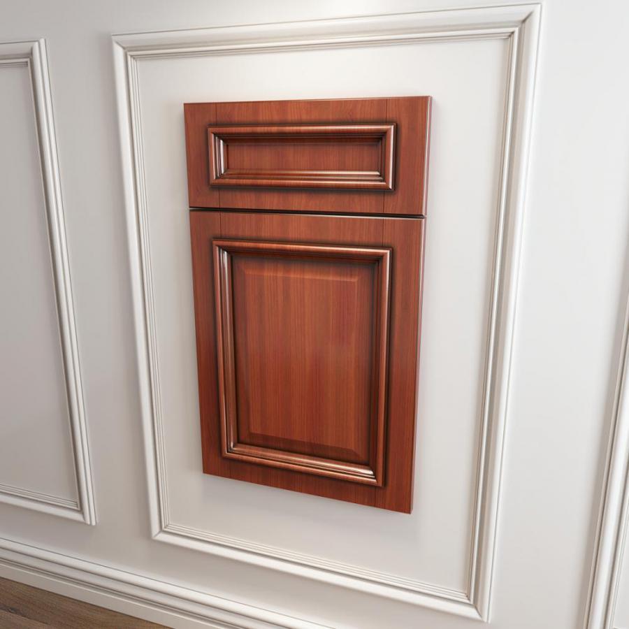 实木橱柜衣柜门板门型模型