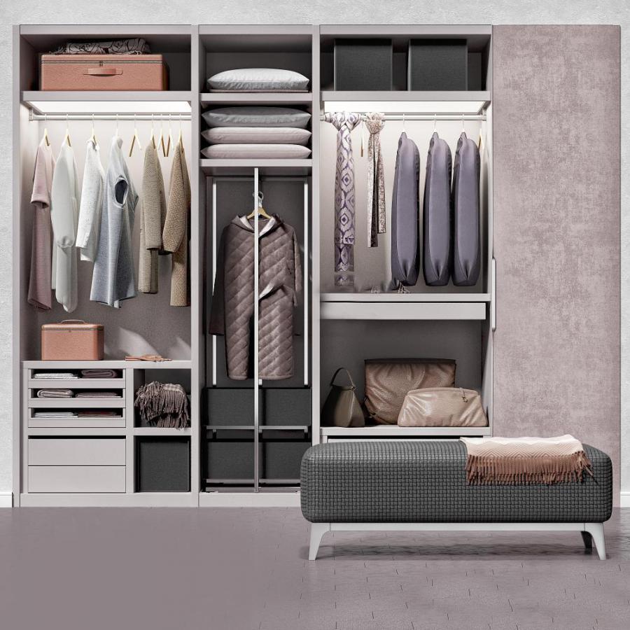 现代家具类柜子模型
