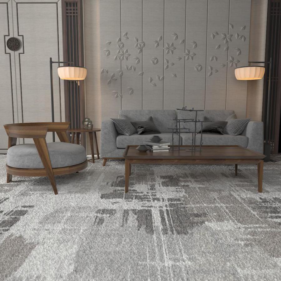 新中式实木沙发模型