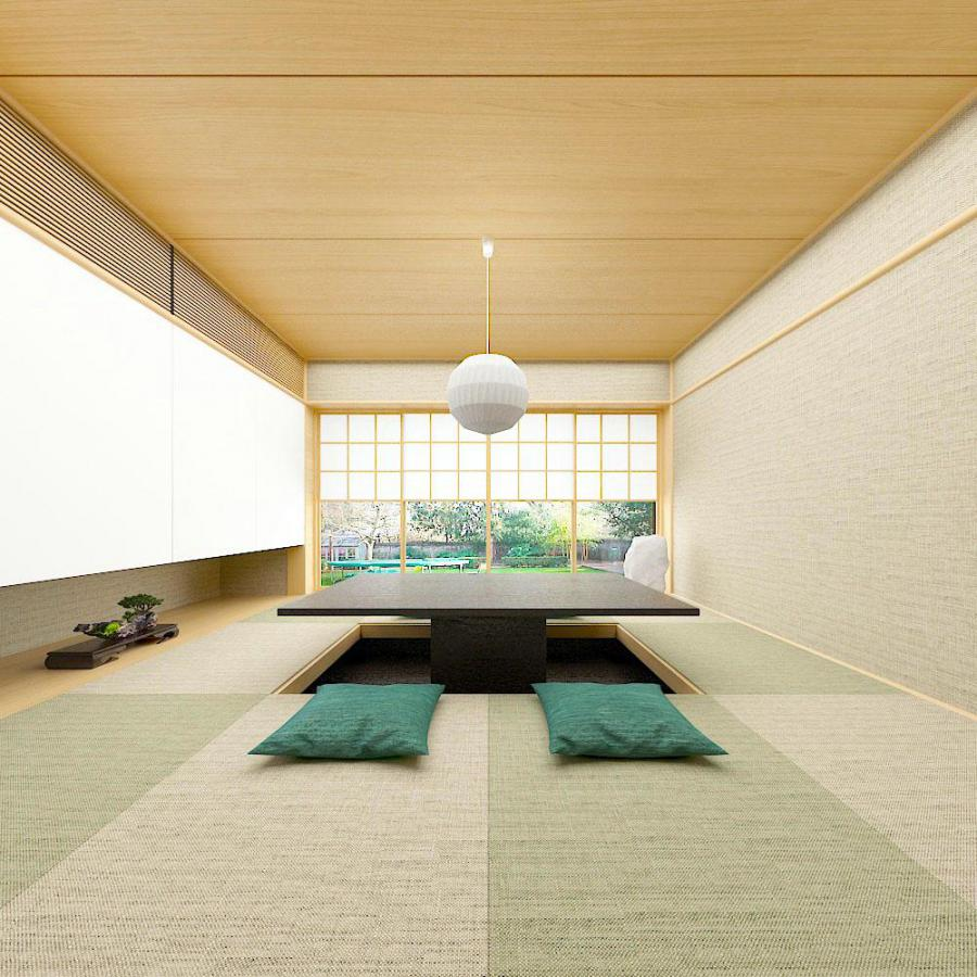日式和室榻榻米模型