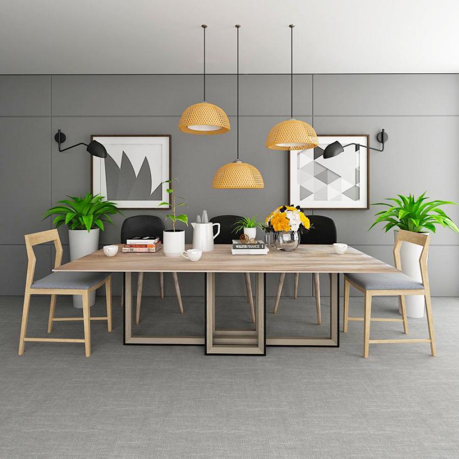 北欧风餐桌模型