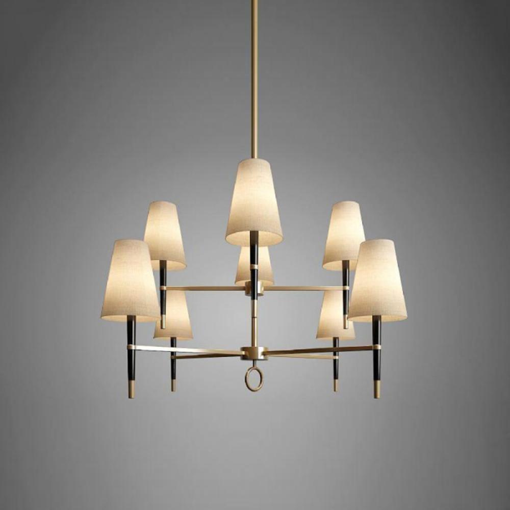 现代风格灯具模型